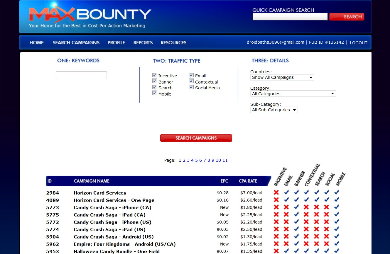 Max Bounty