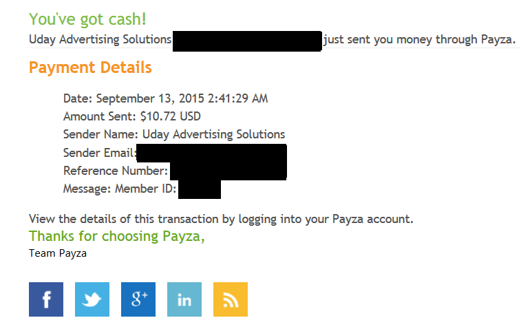 justificante pago mypayingads