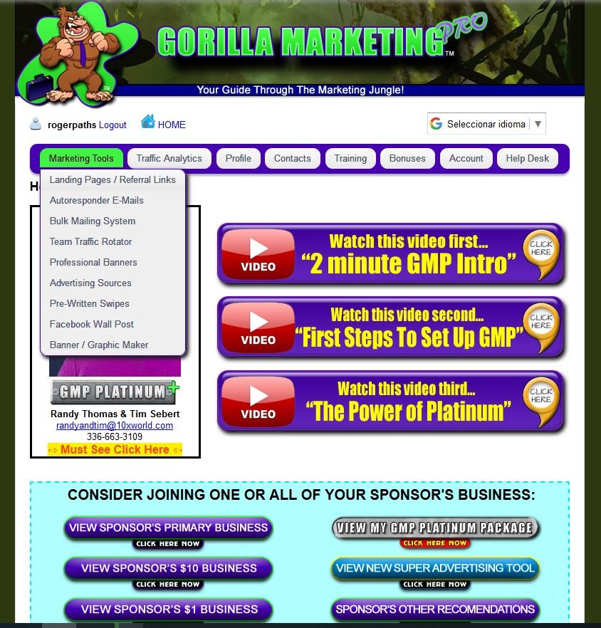 Gorilla marketing pro 1